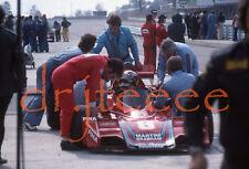 1976 USGP EAST Carlos Pace BRABHAM - 35mm Racing Slide