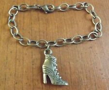 bracelet bronze 18 cm bottine à talon 23x16 mm