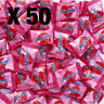 Heartbeat Candy x 50 Pieces | Lolly Candy Love Pink Candies Lollies Heart Beat