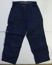UNISEX TOMMY HILFIGER JEANS TROUSERS CARGO CAPRI STYLE 28 IN WAIST BLUE