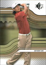 2012 SP Rookie Extended Golf Card #R3 Anthony Kim