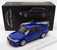 Atlas Editions 1/43 Scale  3 898 005 - 1998 Saab 93 Viggen - Blue