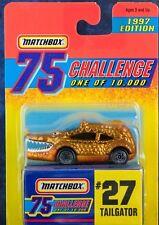 Matchbox MB 27 Tailgator Gold Challenge 1997 Mint On Card