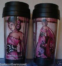 Jessica Galbreth Lavender Rose Fairy Purple Travel Mug faery coffee Lavendar New