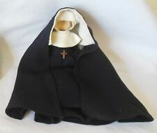 Vintage Nancy Ann Storybook 6� Black Nun Habit Doll Dress