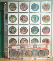 1971 TOPPS CLEMENTE 153 COMPLETE COIN SET PSA 8 ROSE NEAR MINT PSA 7 AARON MAYS