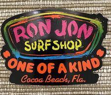Ron Jon Surf Shop Decal Sticker Cocoa Beach, Florida Paint Splatter