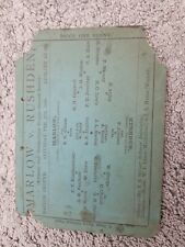 More details for 1893/4 amateur cup marlow v rushden first ever season of amateur cup