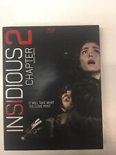 Insidious: Chapter 2 (Blu-ray, 2013)  NEW & SEALED w/slipcover