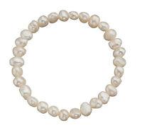 White Cultured Freshwater Pearl Bracelet