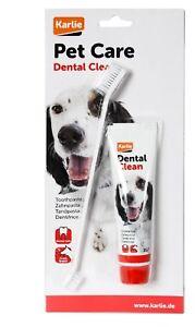 Petcare Zahnpasta mit Bürste Zahnpflege Hygiene Gesundheit Hunde Karlie