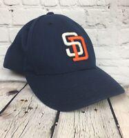 Vintage MLB San Diego Padres Logo Athletic Baseball Cap Hat Snapback Adult Size