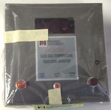 PREFERRED INSTRUMENTS FLUE GAS TEMP. INDICATOR MONITOR P/N JC-15F2J10 DIGI-TELL