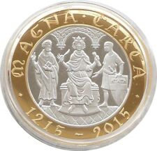 More details for 2015 great britain magna carta £2 two pound silver proof coin box coa