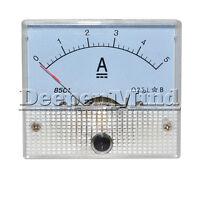 85C1-A  85C1 Analog Current Panel Meter DC 5A AMP Ammeter 85C1