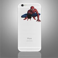 iPhone 6/6s/7/8/X Spiderman Apple decal Marvel sticker art (NEW)