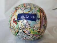 Map of Jerusalem Baseball ⚾️ Ball VERY RARE Hand Made