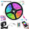 Smart RGB LED Strip Light 5050 LED Tape Lights Remote Control For Room TV Party