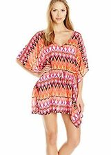 47e1ffae6a Kenneth Cole Small-Medium Pink Geometric Beyond the Sea Swimsuit Coverup  S-M NWT
