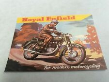 ROYAL ENFIELD Motorcycle  Reprint  Postcard