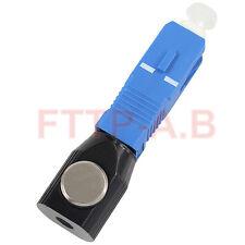 Round Type SC UPC Bare Fiber Adapter SC Bare fiber Flange Single mode/multimode