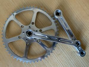 Pédalier vintage fixie single speed - Crankset - Stronglight 49D 52T