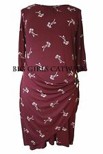Party 3/4 Sleeve Plus Size Wrap Dresses