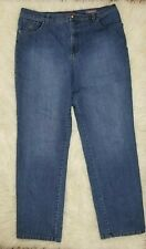 WOMEN'S GLORIA VANDERBIL AMANDA JEANS SIZE 12M TRAIGHT LEG BLUE JEANS COLOR.#270