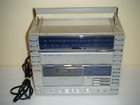 Studio Standard by Fisher PH 460 Stereo Radio Cassette Recorder Boombox (AS-IS)