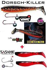 DORSCHKILLER-Fox Rage Spikey 12 cm + VMC 55 g + Kopyto + Sasame 16/1/4/55
