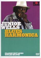 Junior Wells Blues Harmonica Hot Licks Dvd Hot517 Learn To Play Tutorial - Harp
