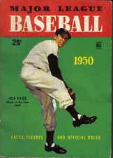 1950, Dell, Major League Baseball Facts & Figures, Joe Page, New York Yankees