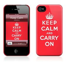 Hard Case GelaSkin- Keep Calm for iphone 4/4S