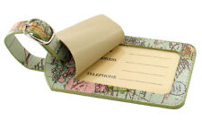 Luggage Tag with World Map in Travel Range by Wild & Wolf