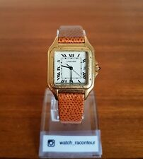 Cartier panthere jumbo 18k gold. Mens large 27mm size