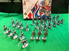 AIRFIX 1/32 WATERLOO BRITISH INFANTRY 1815 BOXED SET 29 FIGURES no2 Rare Vintage