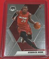 2019-20 Panini Mosaic Basketball Kendrick Nunn ROOKIE Miami Heat #234 RC 🔥