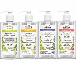 Protective Soothing Gel Intimate Hygiene Green Pharmacy Vegan Feminine Care