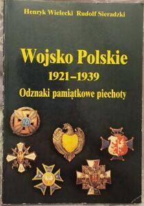 WOJSKO POLSKIE 1921-1939 Odznaki BADGES   Polish book   Paperback 1991