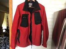 Simms Mens Windstopper Nylon Outer Jacket 2XL Red Orange Fishing Outdoor
