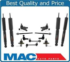 for 98-02 Passport Upp & Low Ball Joints  Tie Rods Sway Bar Links Shocks 14Pc