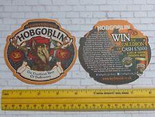 Beer Coaster ~ WYCHWOOD Brewery Hobgoblin Beer of Halloween ~ 2013 Prize Contest