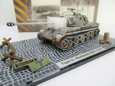 Hot Blooded Models 1/72 Tanks - King Tiger w/Accessories Budapest 1944-1945 A001