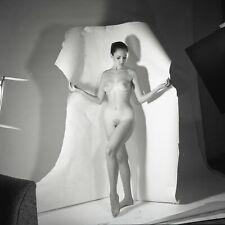Fine Art Vintage Figure Study Nude Original Peter Basch 120 Film Negative 1960s
