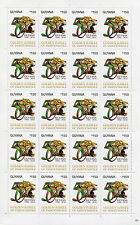 Guyana 2016 MNH Golden Jubilee of Independence 20v M/S III $150 Jaguars Stamps