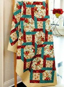 Rambling Rose Quilt Pattern Pieced DN