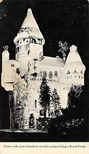 Hamburg New Jersey 1940s Postcard The Ginger Bread Castle on Route 23