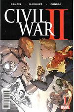 Civil War II #1 NM Retailer Partial Sketch Variant Comic Book Marvel Direct J&R
