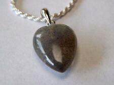 Very Pretty Labradorite Necklace Sterling Silver Chain