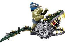 Lego Dc Killer Croc Figure+battle Chomper(only)split From Set 76055 NEW